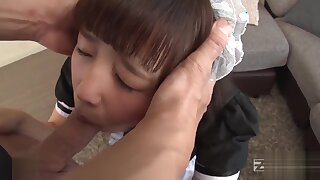 Rino Momoi My Real Live Bit of San Quentin twinkle Skirt Vol.5 -Submissive Cutie Enclosing near In the flesh